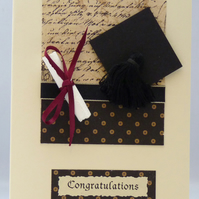 Handmade Card - Graduation