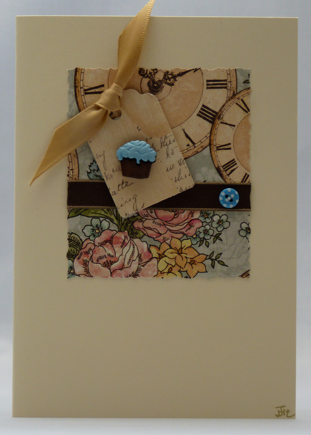 Handmade Card - Any time is tea time!
