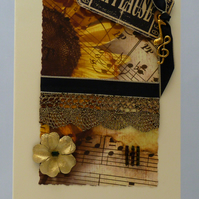 Handmade Card - Sunflower Sonata