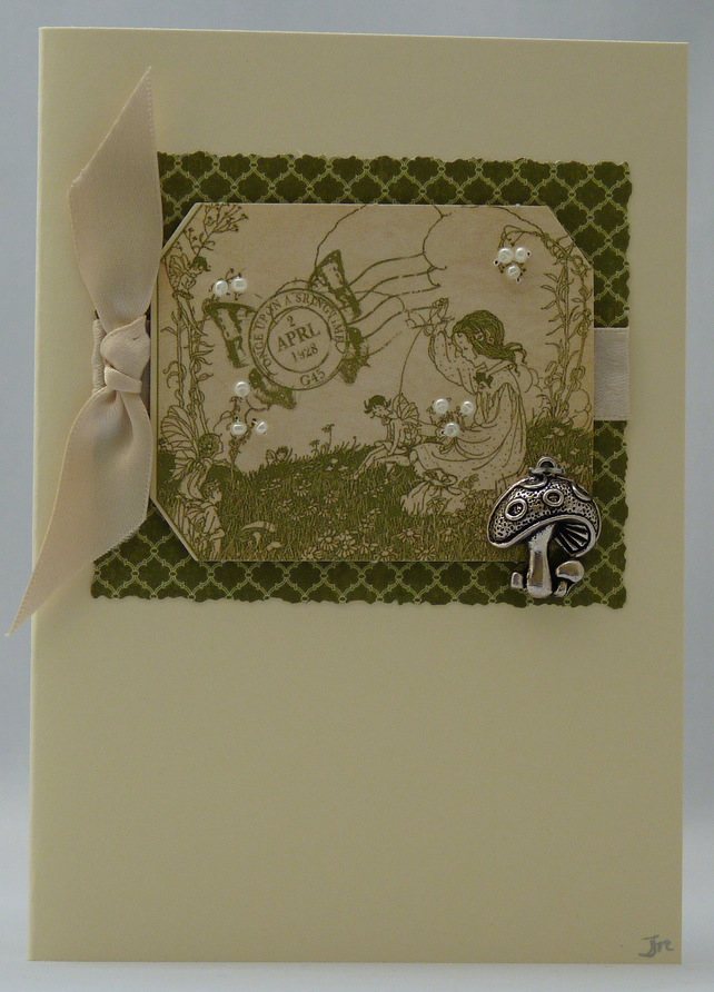 Handmade Card - Fairytales and Toadstools