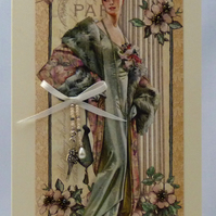 Handmade Card - A Picture of Elegance