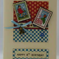 Handmade Birthday Card - Bedtime Stories