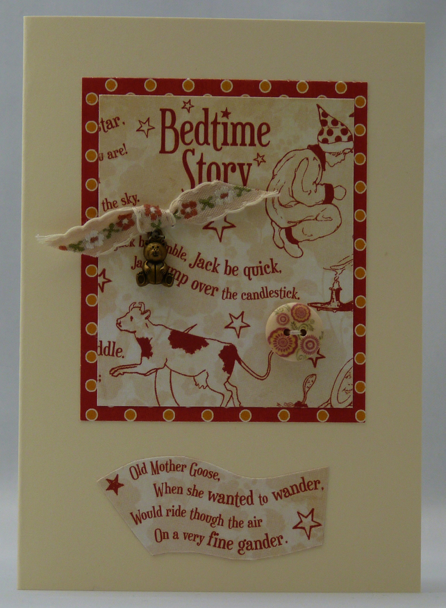 Handmade Card - Nursery Rhymes