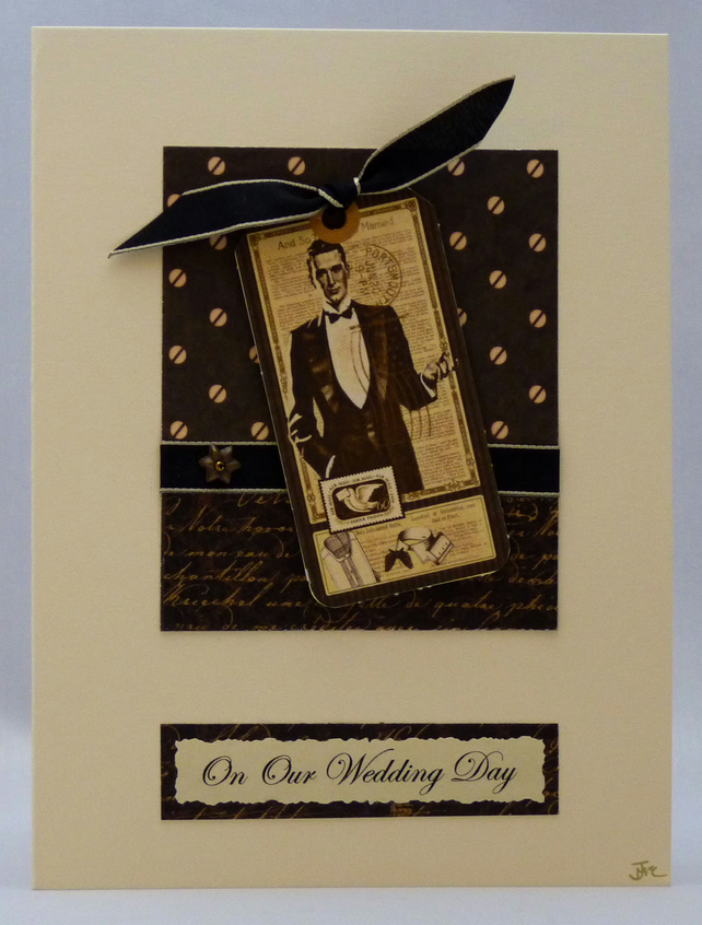 Handmade Card - Our Wedding Day No. 2