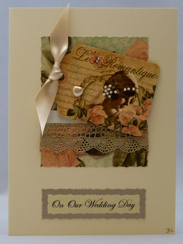 Handmade Card - Our Wedding Day No. 1