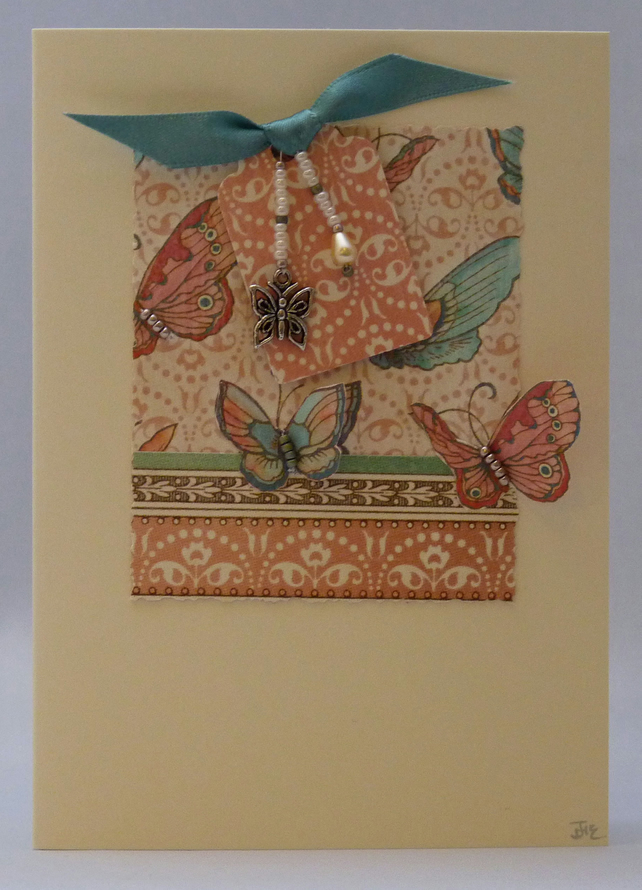 Handmade Card - Butterfly Magic