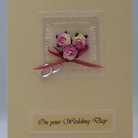 Handmade Card - Wedding
