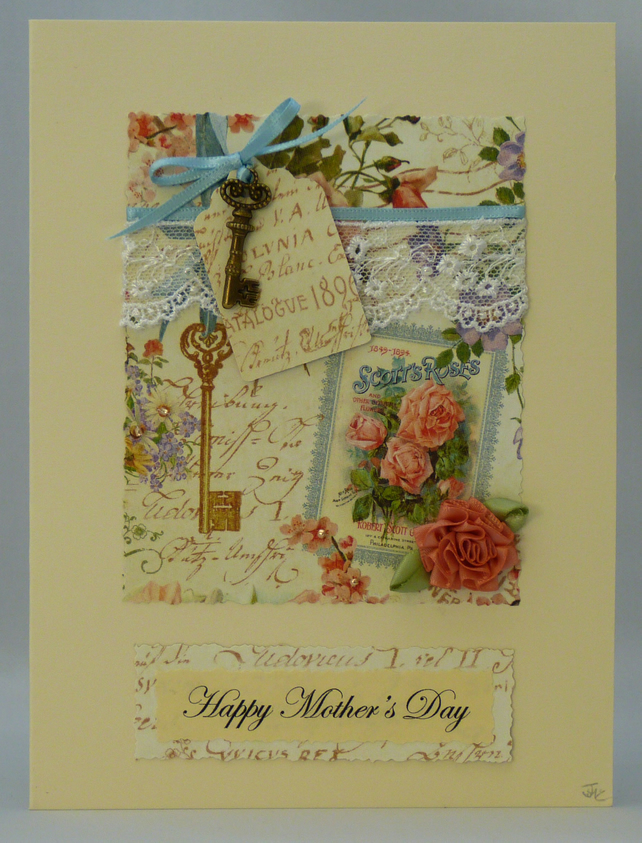 Handmade Card - Happy Mother's Day