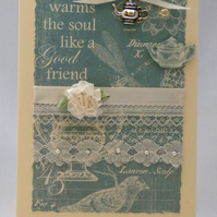 Handmade Card - Friendship