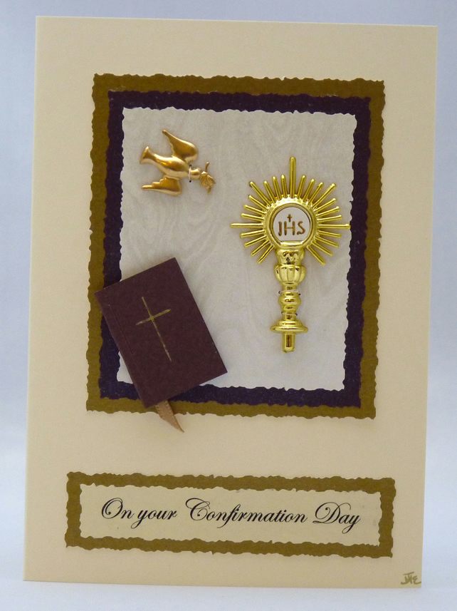 Handmade Card - Confirmation