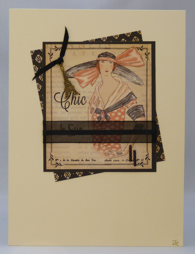 Handmade Card - Couture No. 9