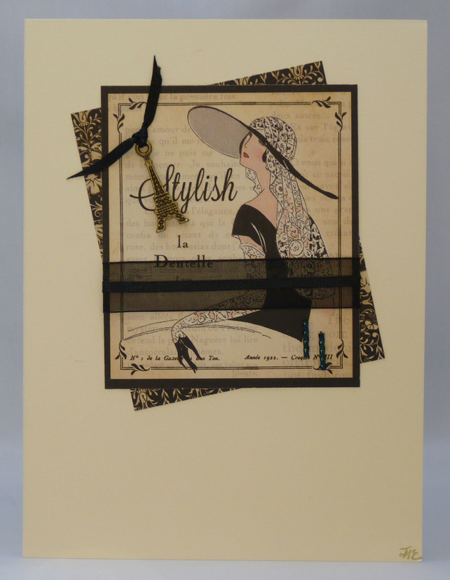 Handmade Card - Couture No. 10