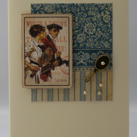 Handmade Card - Mixed Doubles