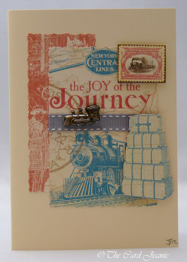 Handmade Card - The Joy of a Journey