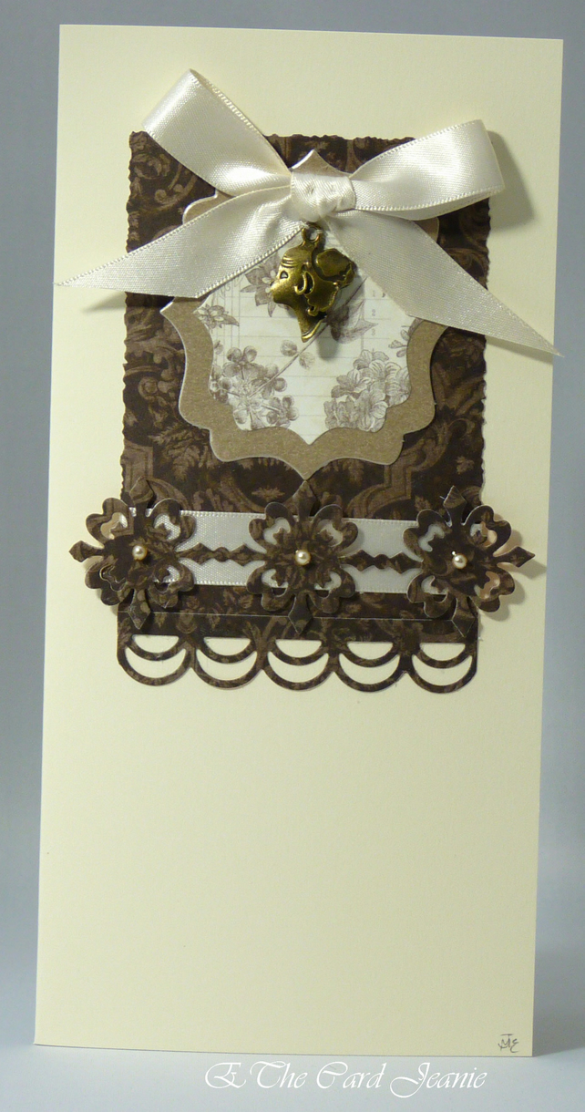 Handmade Card - Cameo No. 3