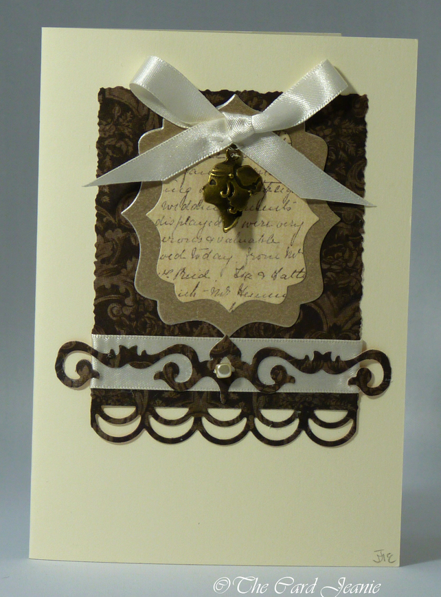 Handmade Card - Cameo No. 2