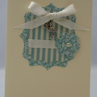 Handmade Card - New Baby Boy No. 2