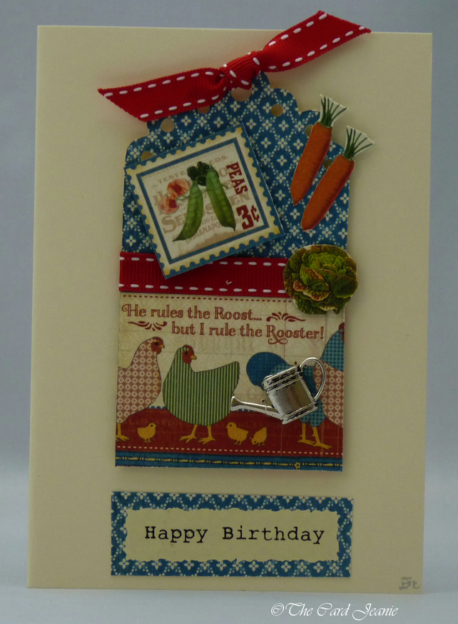Handmade Card - Husband or Partner's Birthday