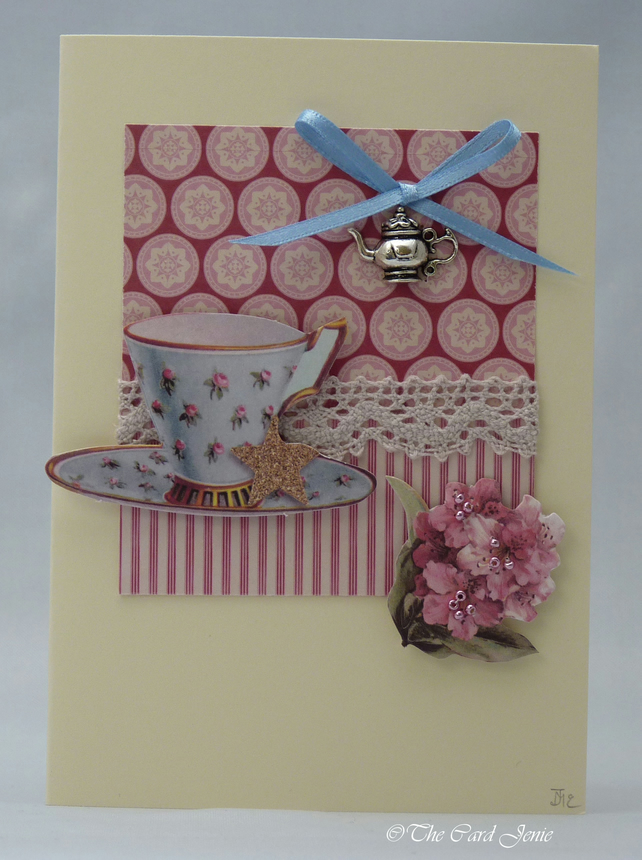 Handmade Card - Afternoon Tea No. 2