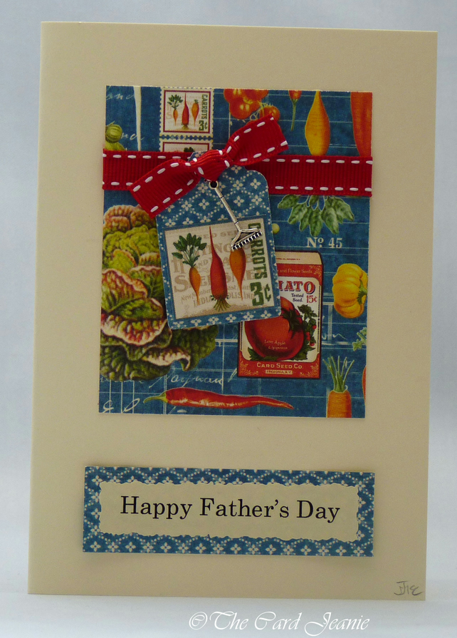 Handmade Card - Dad's Allotment Challenge