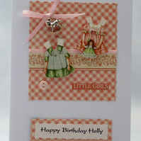 Handmade Card - Little Girl's Birthday No. 2