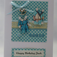 Handmade Card - Little Boy's Birthday No. 2
