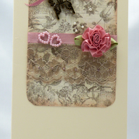 Handmade Card - In the Pink
