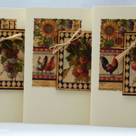 Handmade Cards - Rustic Fruit Selection