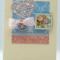 Handmade Card - Scented Flowers