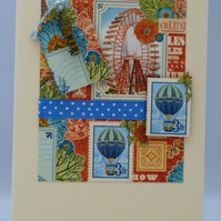 Handmade Card - Fun in London