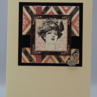 Handmade Card - Art Deco Glamour