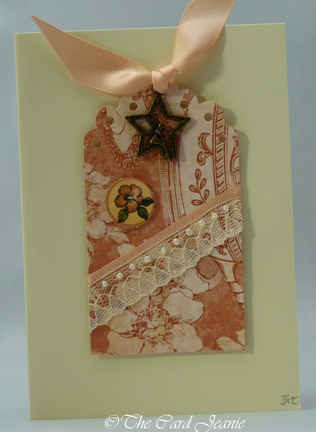 Handmade Card - Star Fairy