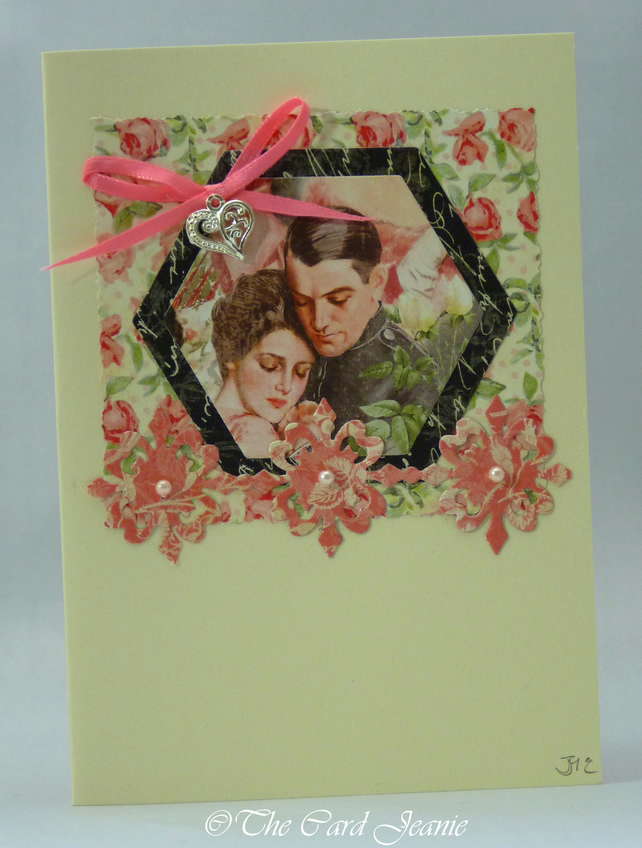 Handmade Card - Love's Young Dream