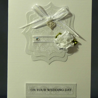 Handmade Card - Wedding Wishes No. 1