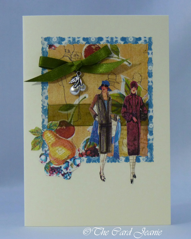 Handmade Card - Fashion Parade