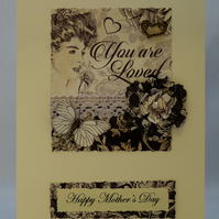 Handmade Card - Mother's Day