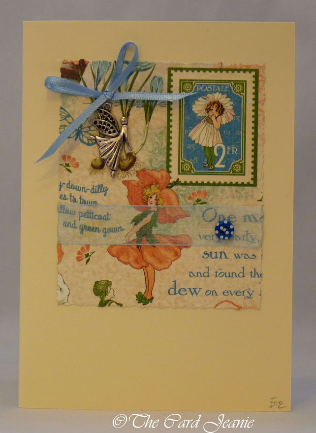 Handmade Card - Flower Fairy No. 1