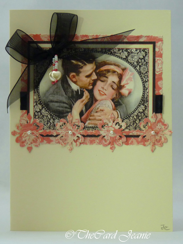 Handmade Card - Engagement No. 1