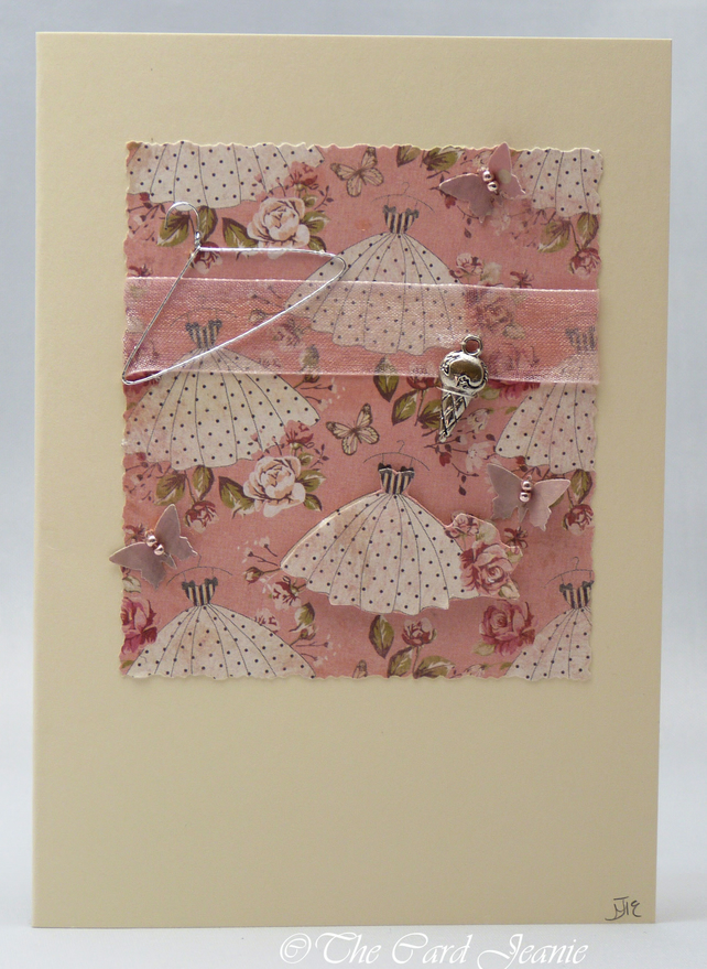 Handmade Card - Summer Prom