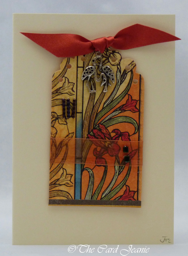 Handmade Card - Tropical Paradise No. 1
