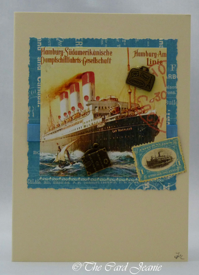 Handmade Card - World Cruise No. 2