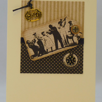 Handmade Card - Jazz Session