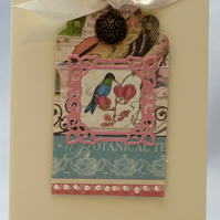 Handmade Card - Exotic Birds