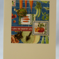 Handmade Card - Country Life