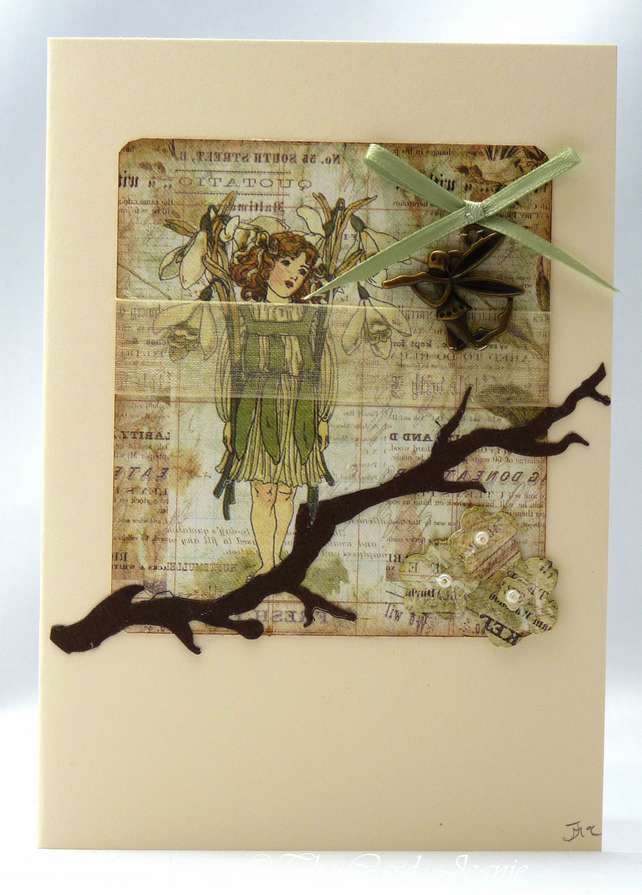 Handmade Card - Woodland Fairy