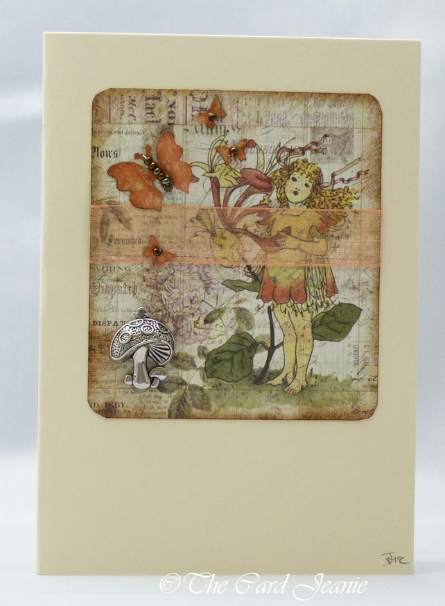 Handmade Card - Woodland Fairy No. 2