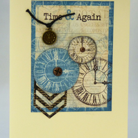 Handmade Card - Time and Again