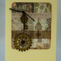 Handmade Card - Steampunk Birthday No. 3