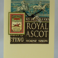 Handmade Card - A day at Ascot