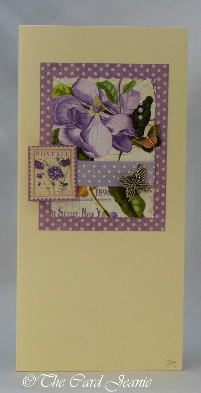 Handmade Card - Spring Flowers No. 2